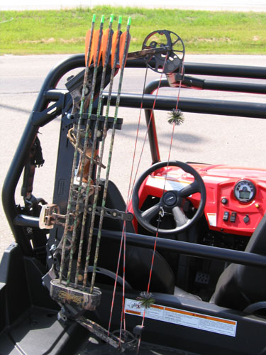 Ahoy Bowhunters Need Ideas For Bow Rack Polaris Rzr